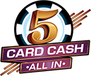 New Jersey  5 Card Cash Winning numbers